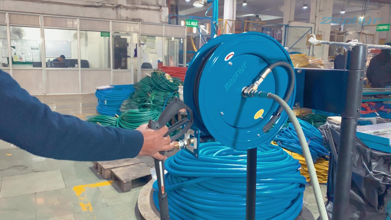 Zephyr: Pressure Washer Reel – Factory Demo
